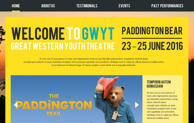 Bristol Youthgroup Webdesign