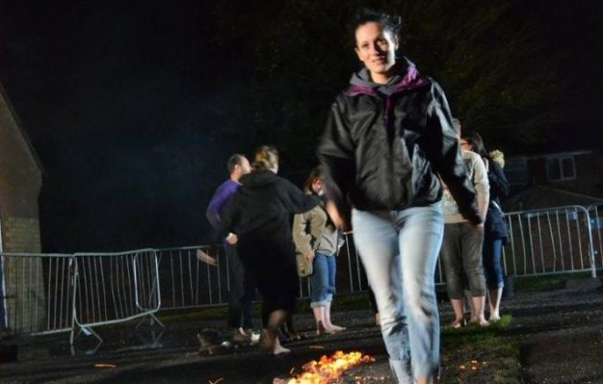 FIREWALKING ON FRIDAY THE 13TH
