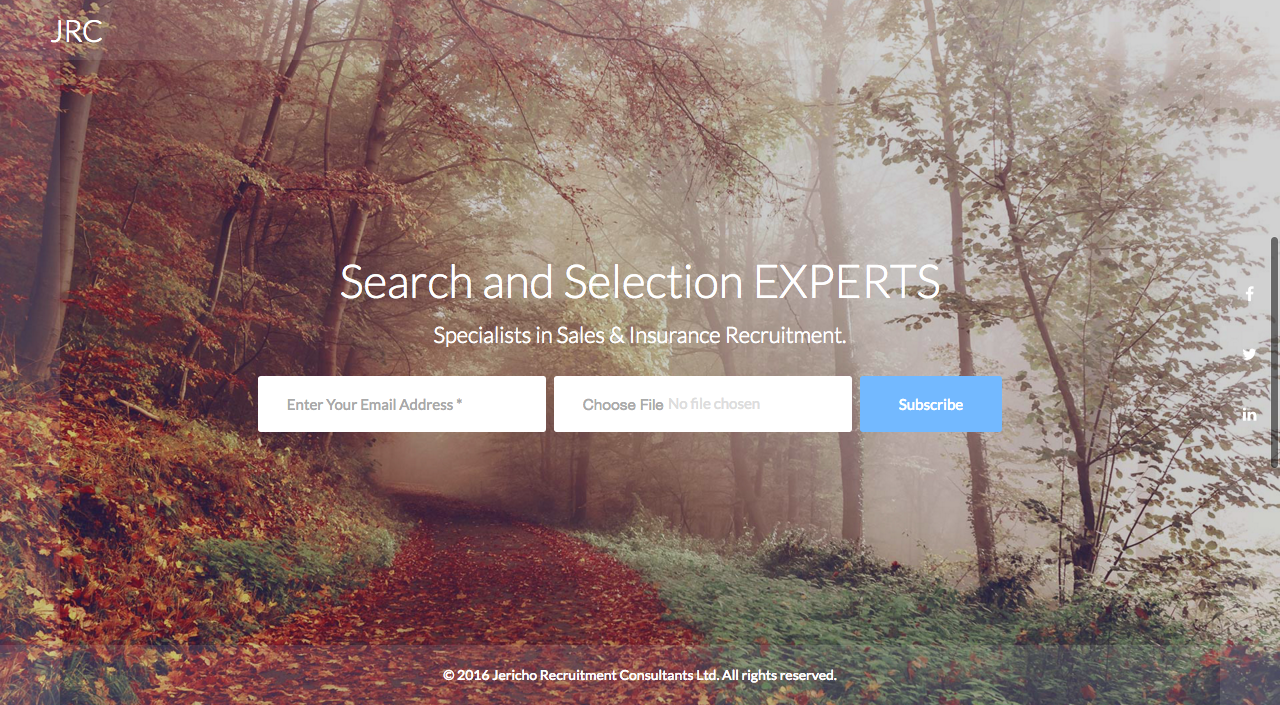 Recruitment Web Design London